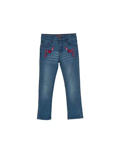 Pantalon jean fille - Little Marcel